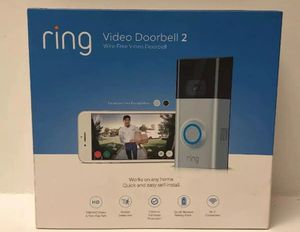 Ring video doorbell 2 works with Alexa for Sale in Murfreesboro, TN