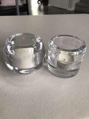 2 Kate Spade crystal votive candle holders for Sale in Long Grove, IL