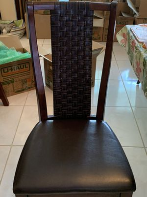Set of 6 Dining Chairs for Sale in Fort Lauderdale, FL