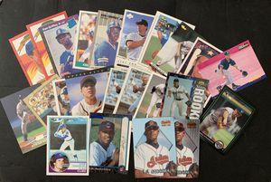 24. Rookie Baseball Cards. Griffey Jeter Sandberg Bonds Puckett & More for Sale in Brea, CA