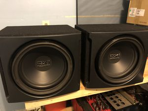 2 twelve inch subs and amp for Sale in Lumberton, NJ