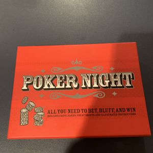 Poker Night Brand New for Sale in Ashburn, VA