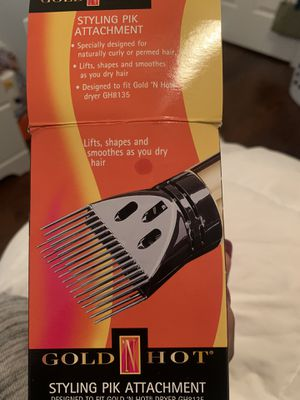 Gold n hot hair dryer attachment for Sale in Richmond, VA