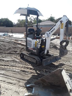 Mini excavator trench for Sale in Chino, CA