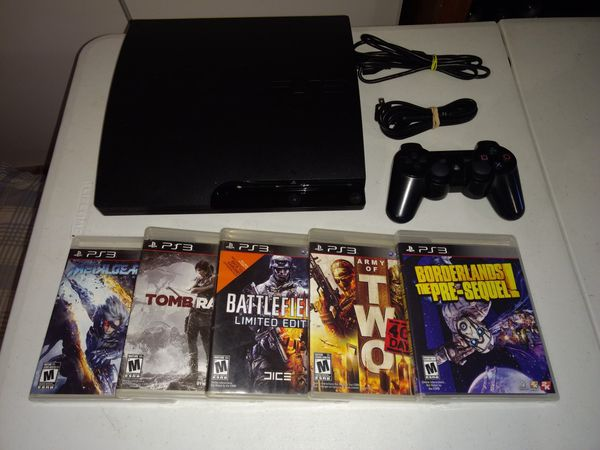 Firm Price PlayStation 3 with games