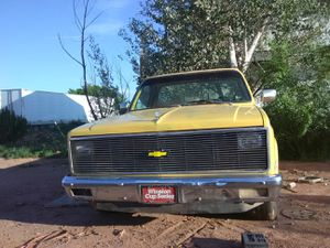 1982 Chevy 6.2 Diesel automatic az truck no rust, 2wd half ton for Sale in Snowflake, AZ