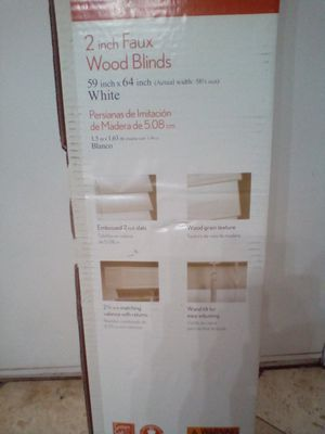 Faux wood blinds ! for Sale in Phoenix, AZ