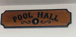 Pool Hall sign for Sale in Santa Clarita, CA