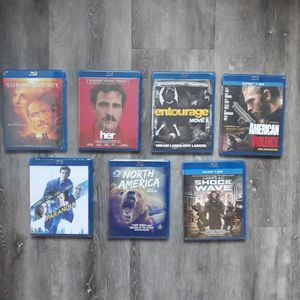 Lot Of 7 Brand New Blu-ray + Dvd - All Unopened Sealed - Movies - FREE SHIPPING for Sale in Longmont, CO