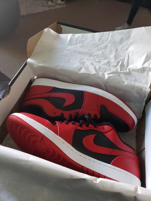 Jordan 1 low reverse bred for Sale in Trenton, OH