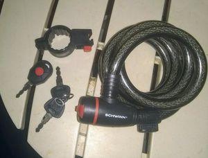 Schwinn, 6 foot bike lock. New, never used for Sale in West Jordan, UT