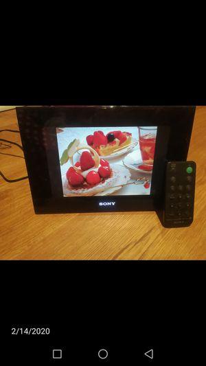Sony foto frame for Sale in Alexandria, VA