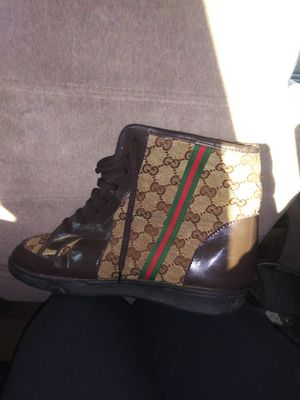 Gucci Monogram high tops for Sale in Midlothian, TX