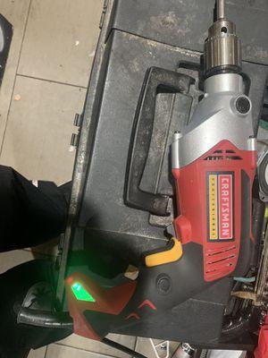 Craftsman electric drill/ hammer drill for Sale in Modesto, CA