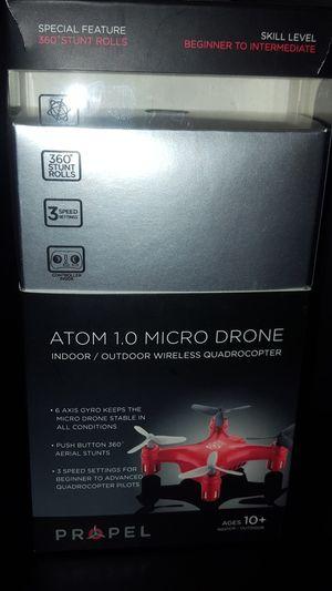 Atom 1.0 micro Drone indoor, outdoor wireless Quadrocopter $10 for Sale in Dallas, TX
