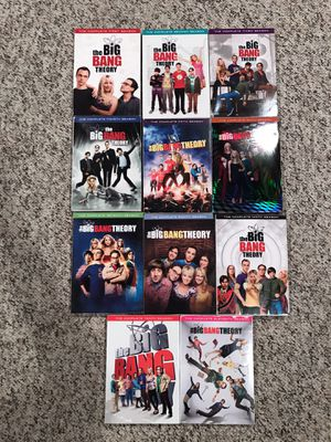 Big Bang Theory DVD seasons 1-11 for Sale in Fairview Park, OH