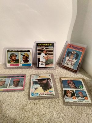 Vintage Baseball Card Lot,Stargell+,6 cards, for Sale in North Versailles, PA