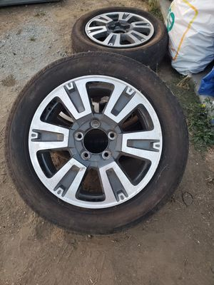 Toyota Tundra TRD Wheels 20 inch for Sale in Mount MADONNA, CA