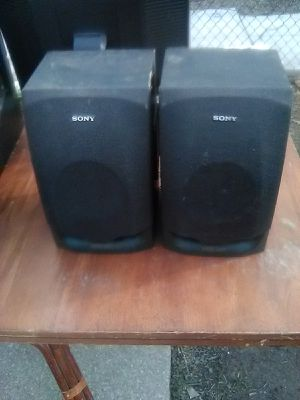 100 Watts Sony bookshelf speakers $50 for Sale in Washington, DC