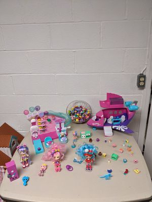 Shopkins airplane and bowling alley and shopkins for Sale in UPPR Saint CLAIR, PA