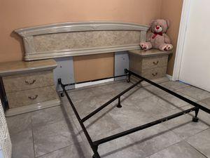 Bed Frame and Dresser Set for Sale in Huntington Park, CA