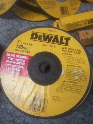 Dewalt metal grinding pour rectifier for Sale in Fort Smith, AR