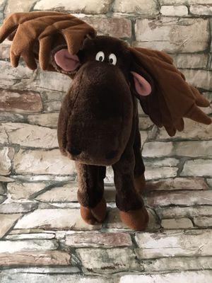 "Dakin Chewie Newgett Moose Plush 12"" Stuffed Animal Vintage Brown 1983. for Sale in Baltimore, MD"