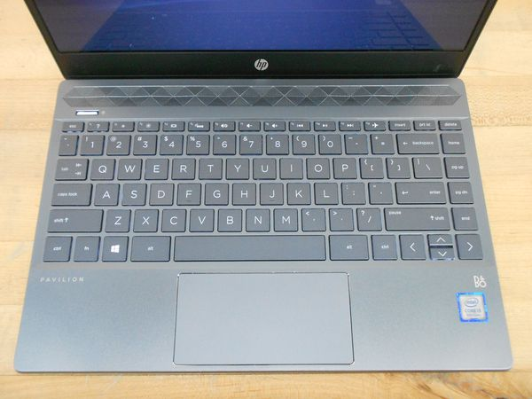 HP blue laptop. i3 8th Gen. 127GBSSD. MSOffice. Delivery
