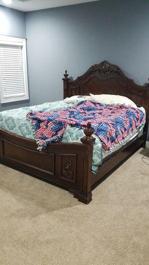 King bed frame $200/OBO for Sale in Bellevue, NE