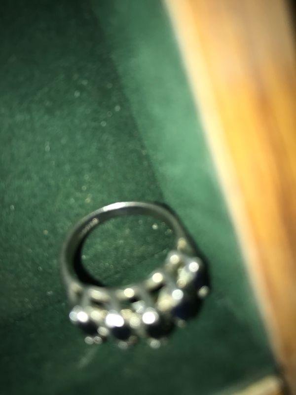 Blue sat fire ring