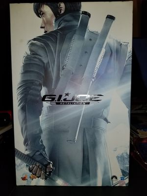 GI JOE HOT TOYS 1/6TH SCALE COLLECTIBLE FIGURE STORM SHADOW MOVIE MASTER PIECE RETALIATION BRAND NEW VERY RARE for Sale in Mesa, AZ