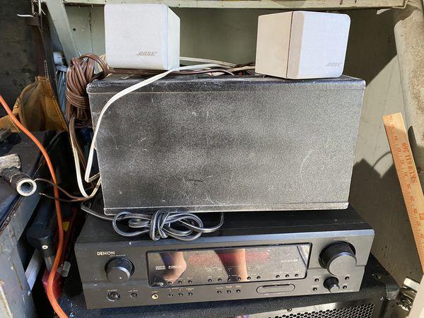 Bose Speakers w/ Amp