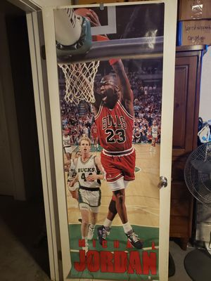 Classic vintage NBA legend full door size posters for Sale in West Covina, CA
