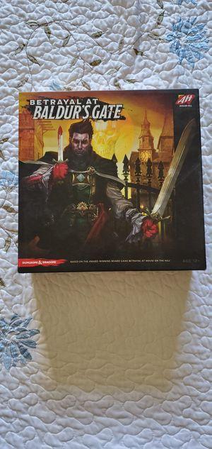 Betrayal at Baldur's Gate Board Game for Sale in San Diego, CA