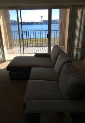 Light grey L shaped couch. for Sale in Destin, FL