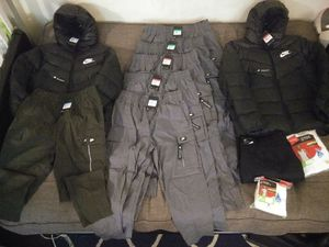 Nike cargo pants and nike jacket read profile for Sale in Danbury, CT