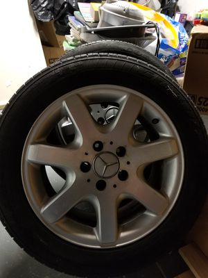 Mercedes slk wheel with tires for Sale in Philadelphia, PA