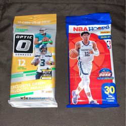 2021 Donruss Optic & 2021 NBA Hoops Cello Lot for Sale in Palatine,  IL