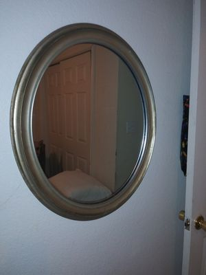 Antique oval framed mirror for Sale in Bastrop, TX