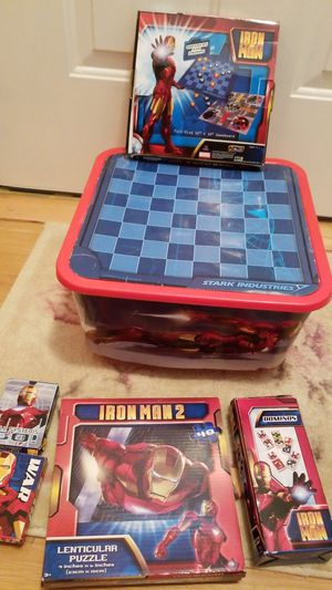 Ironman 2 games lot for Sale for sale  East Brunswick, NJ