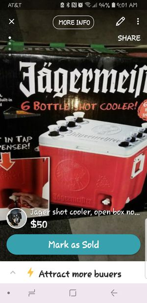 Jager cooler for Sale in Lake Elsinore, CA