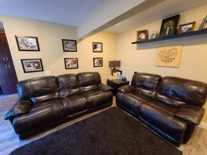 Brown Leather Couches for Sale in El Cajon, CA