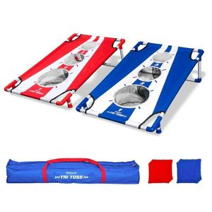Cornhole Toss Game Bags Carry Set Bean Colors Corn Hole for Sale in Marquette, MI