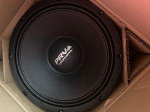 Prv audio 12 chuchero 12 mid range 8 ohms pro audio speaker 99db 350 watts rms for Sale in Miami, FL