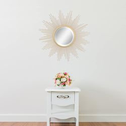 24 Inch Wall-Mounted Mirror In Gold Home Wall Decor for Sale in Los Angeles,  CA