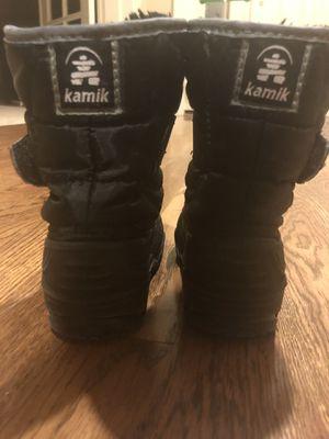 Kamik kids snow boots-size 7 for Sale in Redmond, WA