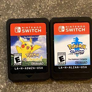 Nintendo Switch Pokémon Games for Sale in Phoenix, AZ
