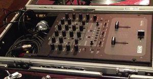 Serato Rene TTM 57SL Mixer + Flight case for Sale in Chicago, IL