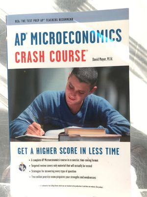 AP MICROECONOMICS CRASH COURSE for Sale in Beverly Hills, CA