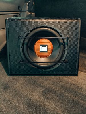 """Car Dual 300 Watts 10"""" Amplified Subwoofer for Sale in Beaverton, OR"""